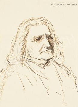 Munkácsy Mihály - Liszt Ferenc portré