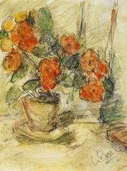 Czóbel, Béla - Still Life of Flowers