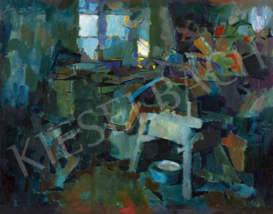 Nagy, Oszkár - View from the Painter's Studio in Nagybánya | 63st Winter Auction auction / 173 Lot