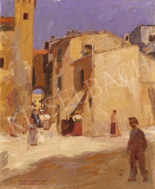 Iványi Grünwald Béla - Keleti utcarészlet | 6. Aukció aukció / 10 tétel