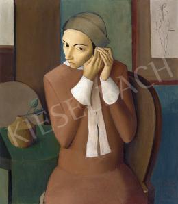 Domanovszky Endre - Bella szépítkezik, 1929