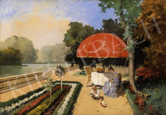 Neogrády, Antal - In the Castle Park | 6th Auction auction / 11 Lot