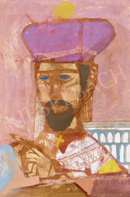 Kondor, Béla - Serbian Priest, 1964
