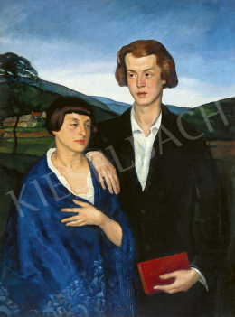 Szőnyi, István - Double Portrait, 1917