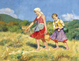 Glatz, Oszkár - Girls on the Sunny Hillside, 1919
