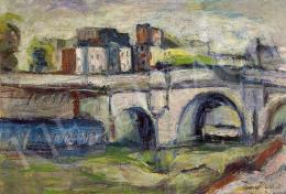 Diener-Dénes, Rudolf - Parisian Seine Bank (Pont Neuf), 1920s