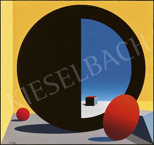 József Kádár - View to the Endless (Square Geometry) | 63st Winter Auction auction / 210 Item