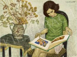 Czene, Béla jr. - Reading woman
