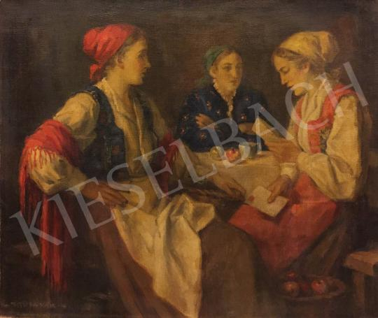 For sale Krusnyák, Károly - The letter 's painting