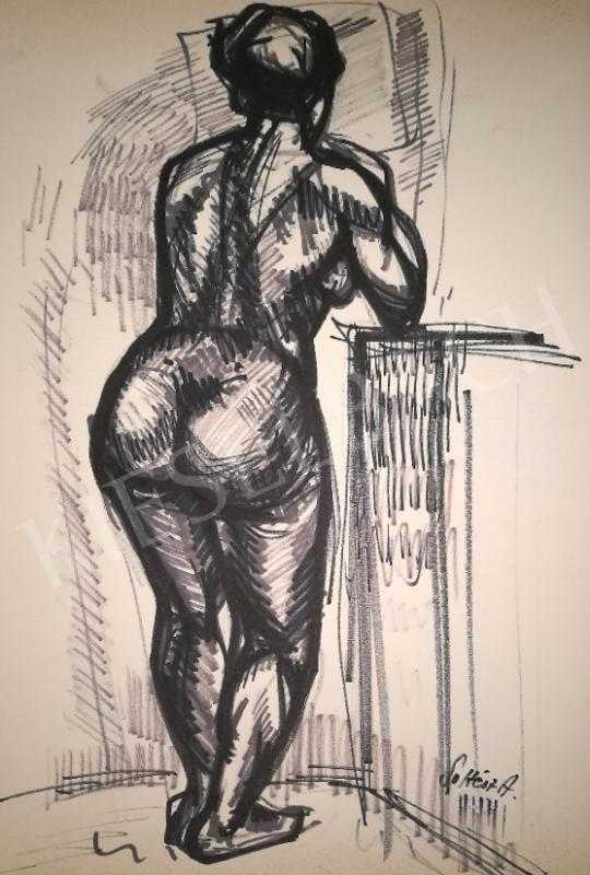 For sale  Soltész, Albert - Female nude study 's painting