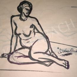 Soltész, Albert - Siiting Nude