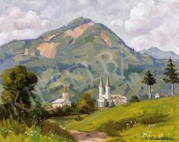 P. Kováts, Ferenc - Landscape in Felsőbánya