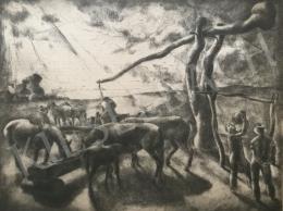 Patkó, Károly - Watering, 1928