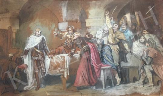 For sale Deák Ébner, Lajos - Oath, 1914 's painting