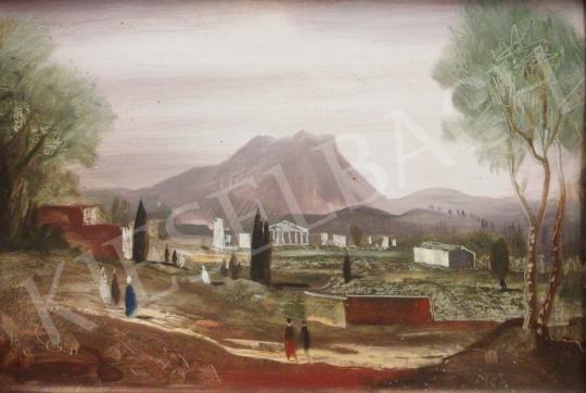 Eladó  Molnár C. Pál - Fantasztikus táj festménye