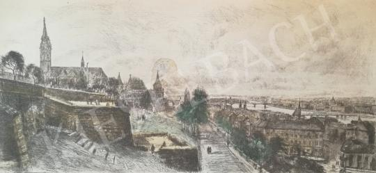 For sale Élesdy, István - View from the Buda Castle 's painting