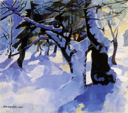 Nagy Oszkár - Téli erdő | 6. Aukció aukció / 20 tétel