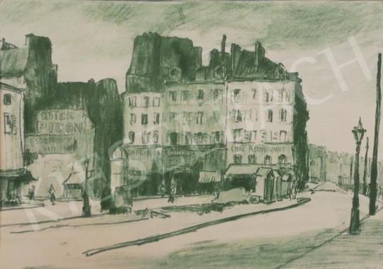 Eladó Vass Elemér - Nagyváros festménye