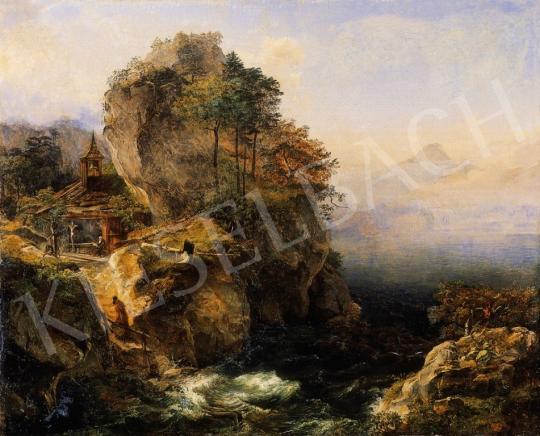 Werner, Johann - Romantikus táj | 6. Aukció aukció / 22 tétel
