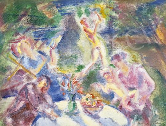 Eladó  Márffy Ödön - Emlékek, 1940-es évek festménye