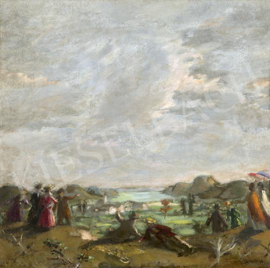 Eladó Fényes Adolf - Tavaszi piknik festménye