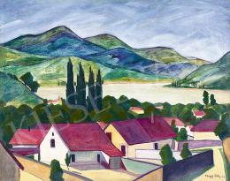 Vaszkó Ödön - Dunakanyar (Nagymaros), 1927