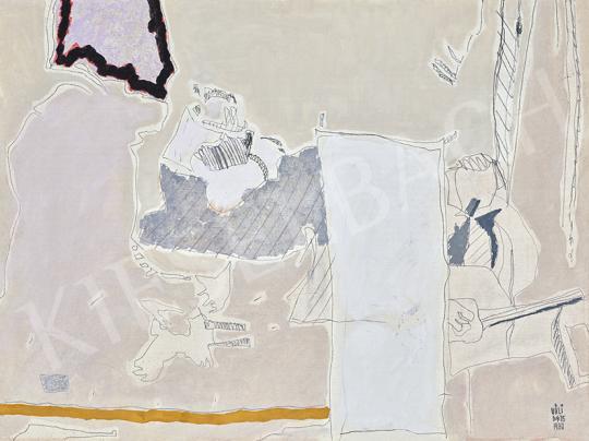 Eladó Váli Dezső - Útikalauz, 1975 festménye