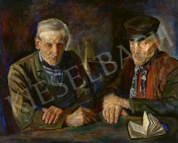 Harta, Felix Albrecht - Öregek Brugge-ben, 1910
