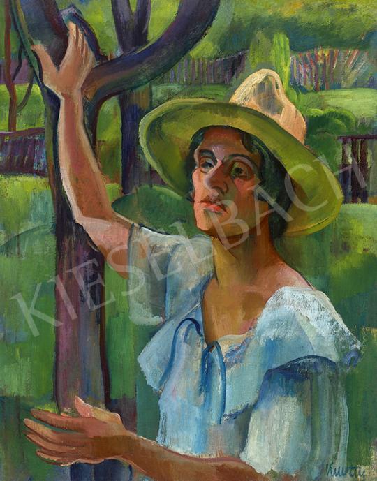 For sale  Kmetty, János - In Nagybánya Garden, 1920s 's painting