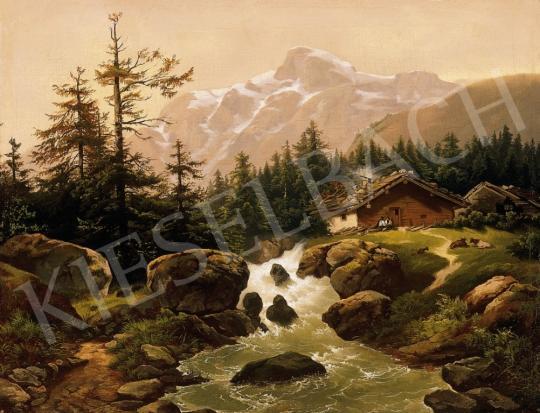F. Skallo jelzéssel - Tiroli táj | 6. Aukció aukció / 24 tétel