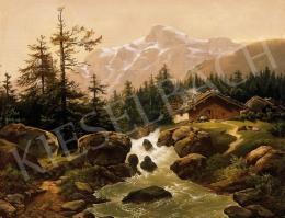 Signed F. Skallo - Tirolian Landscape