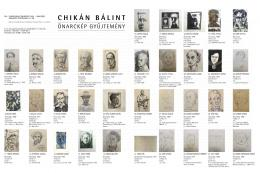 Bálint Chikán collection - Self portrait collection (151 pieces)