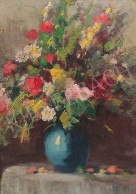 Eladó  Páldy Aladár - Virágcsendélet festménye