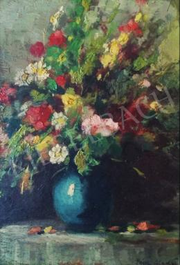 Páldy, Aladár - Still Life with Flowers