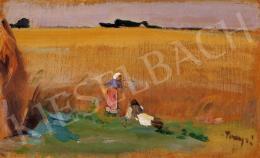 Tornyai, János - Landscape with Figures