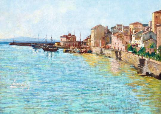 Eladó  Tull Ödön - Dalmácia (Horvátország) festménye