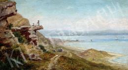 Telepy Károly - Balatoni táj