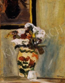 Tornyai János - Virágok vázában