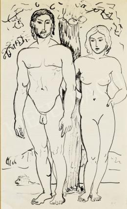 Kernstok, Károly - Adam and Eve