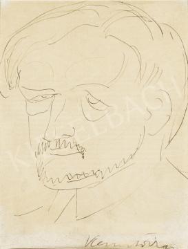 Kernstok Károly - Önarckép festménye