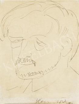 Kernstok, Károly - Selfportrait
