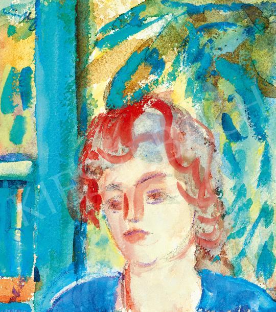 Eladó  Márffy Ödön - Fiatal lány (Verandán) festménye