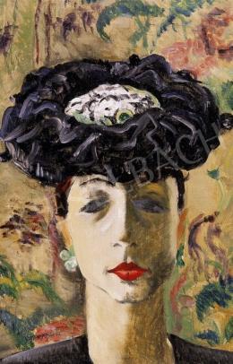 Vörös, Géza - Lady in a Hat