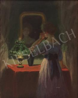 Unknown painter - In front of the mirror