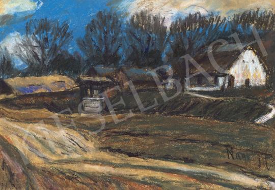 Nagy István - Hévíz felé festménye