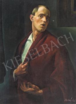 Patkó, Károly - Self-Portrait, 1921