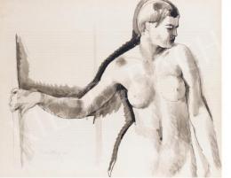 Molnár C., Pál - Nude Study, 1924
