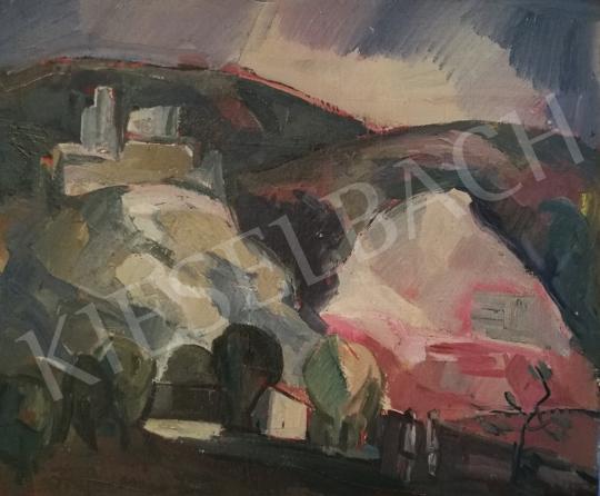 Eladó Francsics József - Csókakői vár festménye