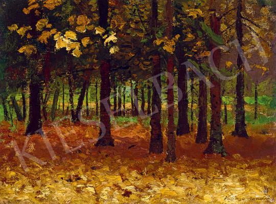 Eladó Katona Nándor - Őszi erdő festménye
