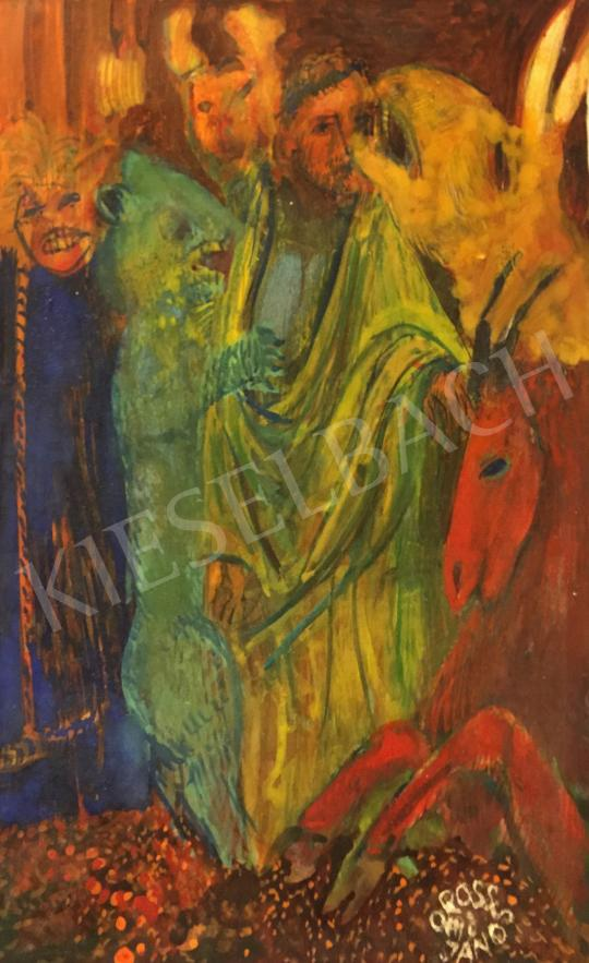 Orosz János - János apostol és a jelenés festménye